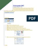 Fungsi Insert Powerpoint 2007