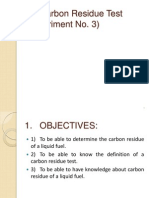 4. Carbon Residue Test