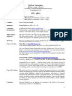 Syllabus Acc 101-503, 504