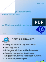 A TQM Case Study in Service Sector