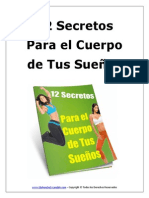 12 Secretos Para El Cuerpo De Tus Sueños