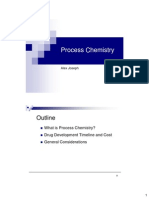Process Chemistry Lecture-1