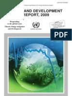 Informe Sobre El Comercio y Desarrollo 2009