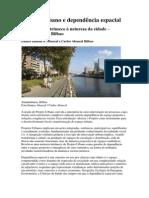 Projeto Urbano e dependência espacial