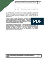 Analisis de los principales tratados de México