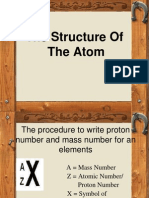 2.2 (d) Atomic Structure