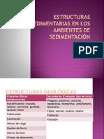 Estructuras sedimentarias en los ambientes de sedimentación
