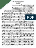 Schubert - Gefangenen Sanger, Die (Schlegel)