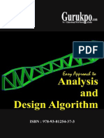 Analysis and Design Algorithem
