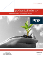 Agrochemical Industry