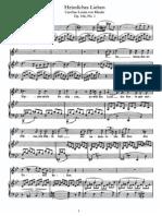 Schubert - Heimliches Lieben (Klenke), Op.106, No.1