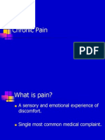 Lecture 7 Chronic Pain