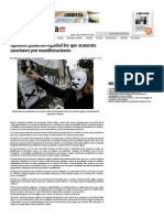 Aprueba gobierno español ley que aumenta sanciones por manifestaciones — La Jornada