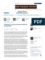Disturbios en Suecia desatan debate de desigualdad - El Diario de Yucatán