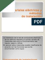 Materiales eléctricos y métodos