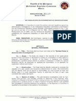 Rev. Rules and Reg. in Admin. Invest. No. 2013-775_091813