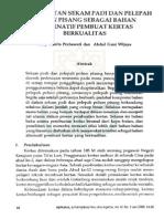 Susy Yunita Prabawati Dan Abdul Gani Wijaya Pemanfaatan Sekam Padi Dan Pelepah Pohon Pisang Sebagaibahan Alternatif Pembuat Kertas Berkualitas