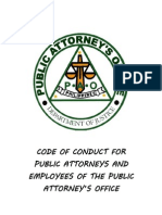 Code of Conduct for Employees