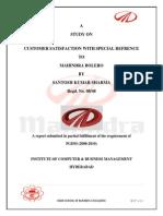Mahindra Buolero Project