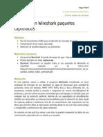 Analizar Con Wireshark Paquetes Capturados