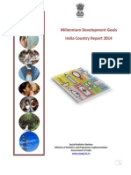 Millennium Development Goals,India Country Report 2014