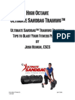 High Octane Sandbag Training