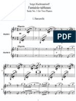 Suite No 1, Op 5 (2 Piano)