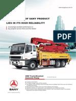 28m Truck-mounted Pump Concrete