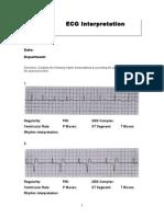 Basic EKG Interpretation Exam