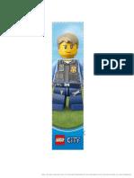 LEGO City Elite Police Bookmark