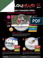 Leták PLAYKLUB 2/2014