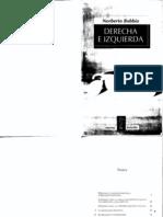 Norberto Bobbio - Izquierda y Derecha