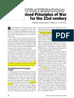 To Do-Modernized Principles of War