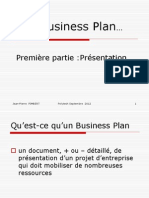 Cours Business Plan 2012
