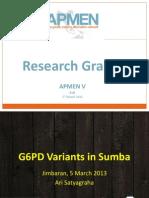 APMENV_S6_G6PD Variants in Sumba_Ari Satyagraha.pdf