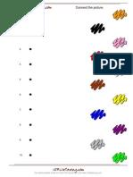 Colors Worksheet A1