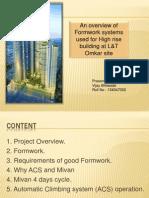 Formwork Presentation