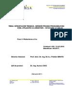 Specificatie Tehnica - Cerinte Privind Produsele Din Otel Utilizate CA Armaturi - Reviz .ST 009-05 - R2