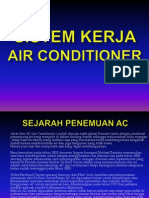 Sistem Kerja Air Conditioner.sharING SESSION