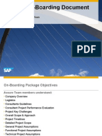 On-Boarding Document Template