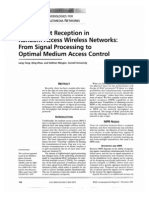 Multi Packet Reception in RAWN
