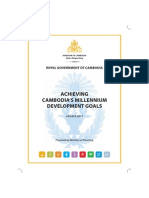 RGC - 2011 - Cambodia MDG Progress Report