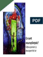 Neuro C1 Pionieri Descoperiri