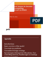 Pwc Current Issues in Income Tax Accounting Us Gaap and Ifrs Pt 1