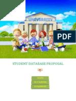 Student Database Proposal