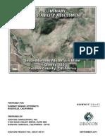 JMM FEIR Slope Stability Report