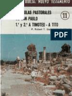 Conoce La Biblia - Nuevo Testamento 11 - Timoteo Y Tito
