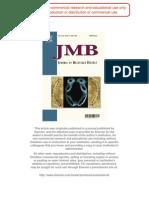 J.Mol.Biol. 2007, 366, 1387-1400