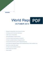 ACI World Report October 2013