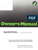 Puch Maxi Owners Manual
